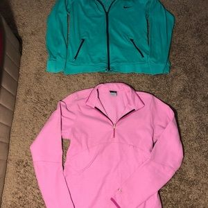Nike jacket bundle of 2 size Medium